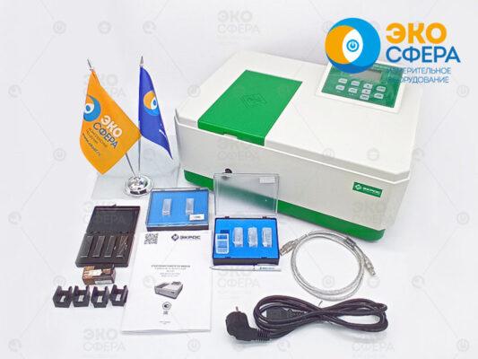 ПЭ-5400УФ - Базовый комплект поставки спектрофотометра с поверкой