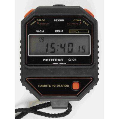 Интеграл С-01 - Внешний вид секундомера электронного с первичной поверкой