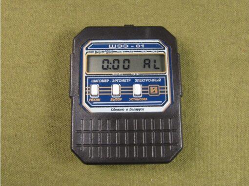 ШЭЭ-01 - Режим секундомера в шагомере электронном