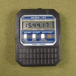ШЭЭ-01 - Режим электронных часов для измерения времени в электронном шагомере ШЭЭ-01
