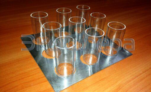 Кварцевые стаканчики для проб, размещаемых в термокамере