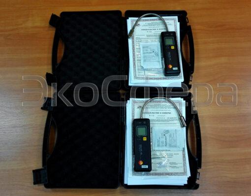 Testo 316-EX - Течеискатель с первичной поверкой