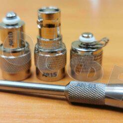 Кабельные переходники AR и щуп AN01 виброметра АР5500