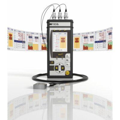 ЭКОФИЗИКА-111В (Белая) Комплект ВиброЭксперт-111В - Трехосевой виброметр-анализатор спектра с первичной поверкой
