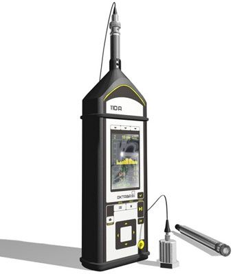 Шумомер-анализатор спектра Октава-110А-Эко с первичной поверкой
