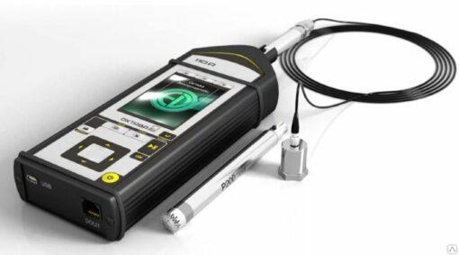 Шумомер-виброметр анализатор спектра Октава-110А с поверкой