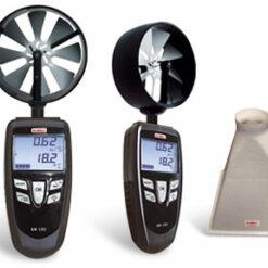 KIMO LV 101, LV 107, LV 110 - Термоанемометры