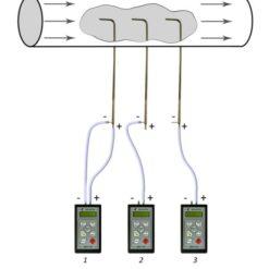 Схема подключения трубки напорной Пито к манометру ДМЦ