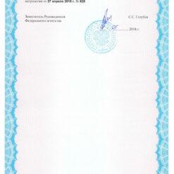 Testo 510 - Свидетельство о внесении в Госреестр СИ РФ