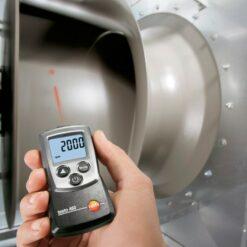 Измерение числа оборотов тахометром TESTO 460