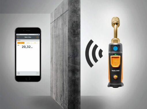 Testo 549 i Cмарт-зонд - Манометр высокого давления с Bluetooth, управляемый со смартфона/планшета