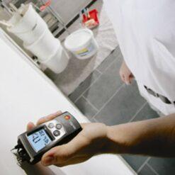 Измерение влажности древесины прибором Testo 606