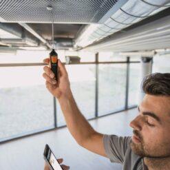 Testo 905 i Cмарт-зонд - Термометр с Bluetooth, управляемый со смартфона/планшета