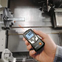 Проведение измерений скорости вращения тахометром Testo 460