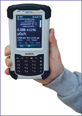 Дозиметр ДКГ-АТ1129 - Блок отображения информации