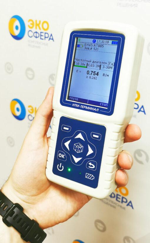 Е-метр АТ-005 – Измеритель параметров электрического поля + индикаторный блок НТМ-Терминал