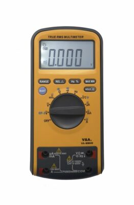 Мультиметр цифровой VA-MM40 с повышенной защитой
