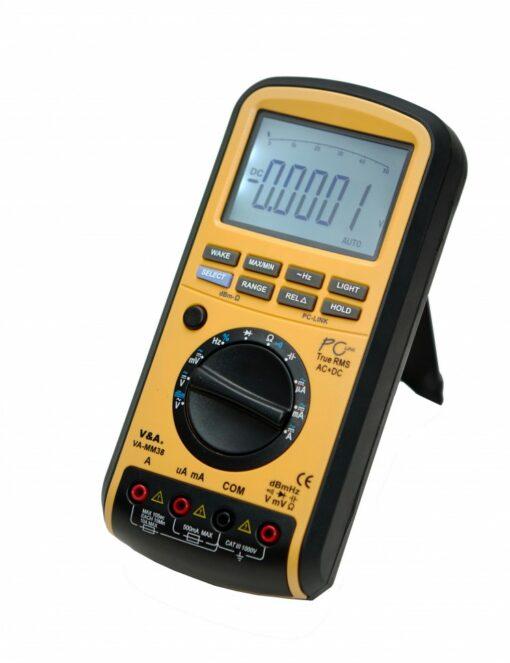 Мультиметр цифровой VA-MM38 с первичной поверкой
