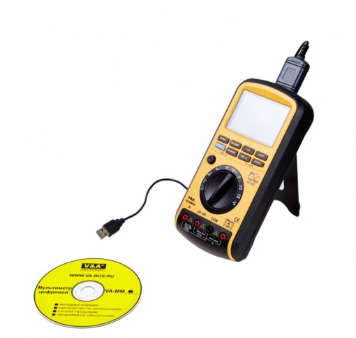 Мультиметр цифровой VA-MM38 передача данных на ПК