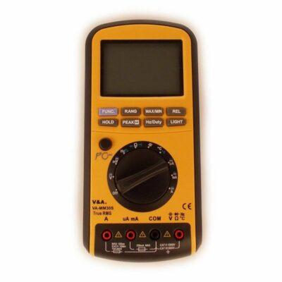Мультиметр цифровой VA-MM30s с первичной поверкой