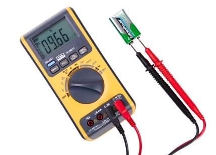 Мультиметр цифровой VA-MM17 измерение напряжения