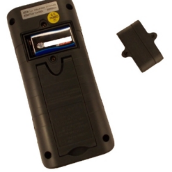 Мультиметр цифровой VA-MM18ВЕ батарейный отсек