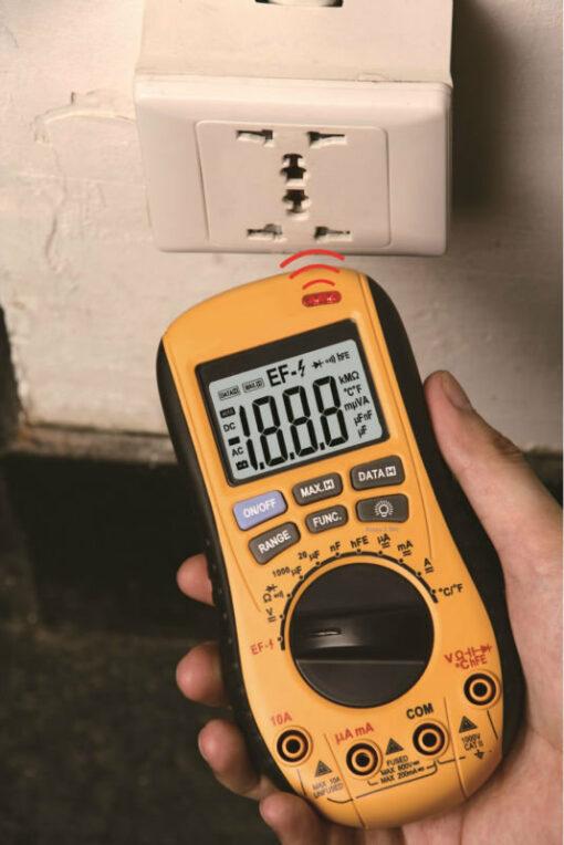 Мультиметр цифровой VA-MM20 светодиод бесконтактного датчика переменного напряжения