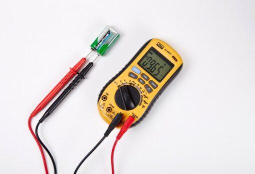 Мультиметр цифровой VA-MM21 измерение напряжения