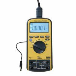 Мультиметр цифровой VA-ММ55 с повышенной защитой, подключение к ПК