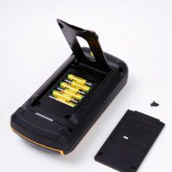 Мультиметр-мегаомметр VA-MM588 батарейный отсек