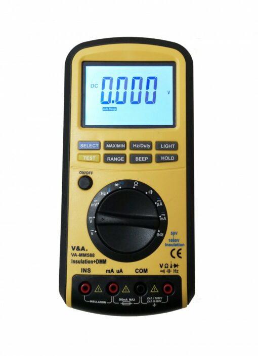 Мультиметр-мегаомметр VA-MM588