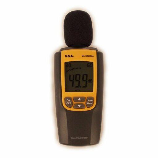 Измеритель уровня звука VA-SM8080 с первичной поверкой замер