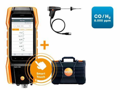 Комплект testo 300 СО c Н2-компенсации